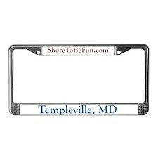 Templeville MD License Plate Frame