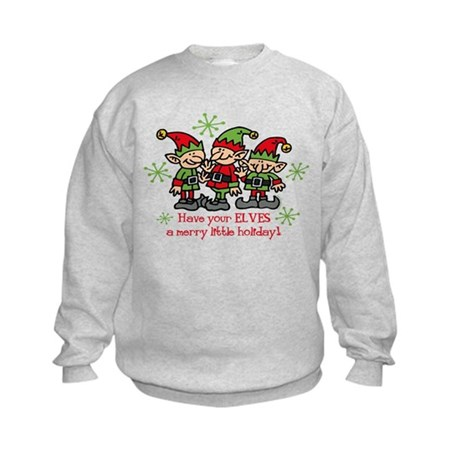 Merry Elves Kids Sweatshirt
