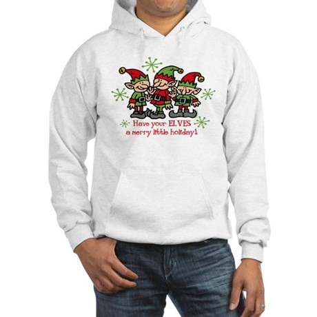 Merry Elves Hooded Sweatshirt