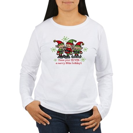 Merry Elves Women's Long Sleeve T-Shirt