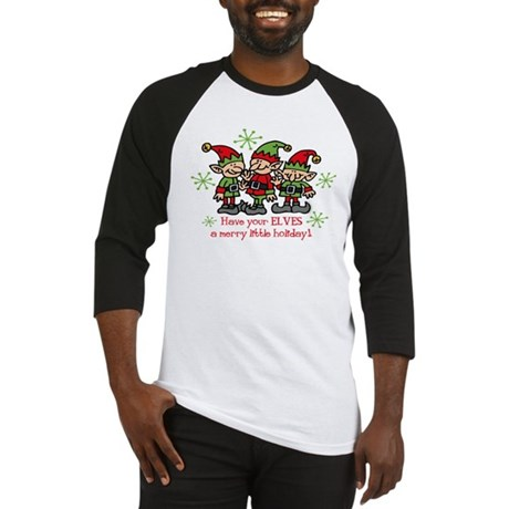 Merry Elves Baseball Jersey