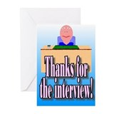 Thanks for the inter-Greeting Cards (Pk of 10)