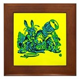 Dormous in Teapot Framed Tile