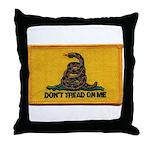 Don't Tread on Me! Throw Pillow
