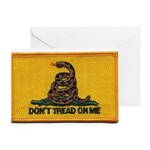 Don't Tread on Me! Greeting Card
