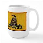 Don't Tread on Me! Large Mug