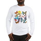Beautiful Butterflies Long Sleeve T-Shirt