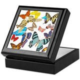 Beautiful Butterflies Keepsake Box
