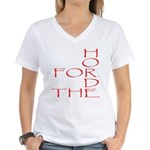 Horde Pride Women's V-Neck T-Shirt