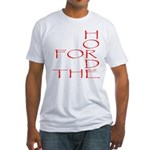 Horde Pride Fitted T-Shirt