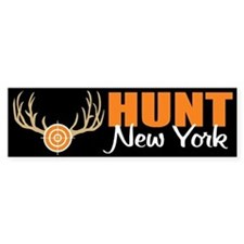 Hunt New York Bumper Bumper Sticker