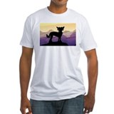 Chinese Crested Purple Mt. Shirt