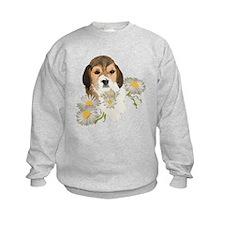 Beagle Pup & Daisies Sweatshirt