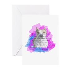 Chief - purple Greeting Cards (Pk of 10)