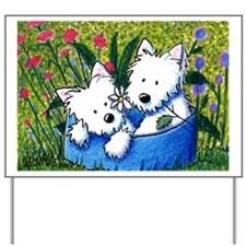 Flowerbed WESTIES Yard & Garden Art