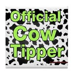 Official Cow Tipper Tile Coaster