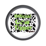 Official Cow Tipper Wall Clock