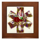 EMS Holiday Gifts and Shirts Framed Tile