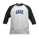 GAGE design (blue) Tee
