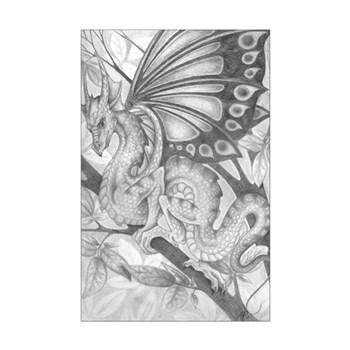 Fairy Dragon Poster Print