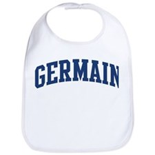 GERMAIN design (blue) Bib