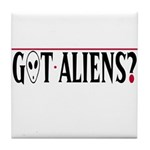 Alien artifacts Tile Coaster