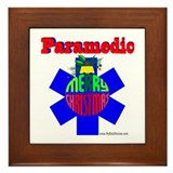 Paramedic Christmas Gifts Framed Tile