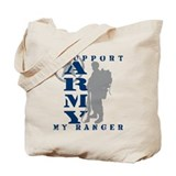 I Support My Rngr 2 - ARMY Tote Bag