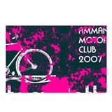 Amman Motorcycle Club Postcards (Package of 8)