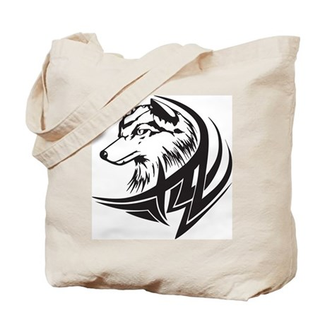 Dog Tattoo Tote Bag