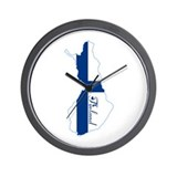 Cool Finland Wall Clock