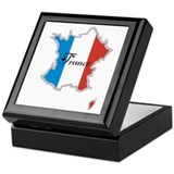 Cool France Keepsake Box