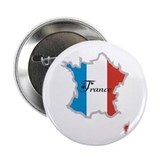 "Cool France 2.25"" Button (100 pack)"