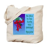 Earth Holiday Shopping Bag