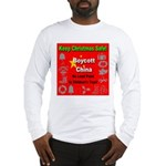 Keep Christmas Safe Boycott C Long Sleeve T-Shirt