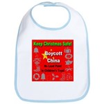 Keep Christmas Safe Boycott C Bib