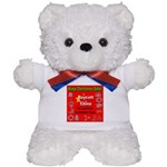 Keep Christmas Safe Boycott C Teddy Bear