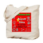 Keep Christmas Safe Boycott C Tote Bag