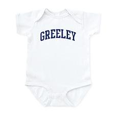 GREELEY design (blue) Infant Bodysuit