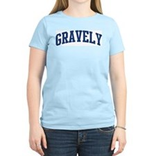 GRAVELY design (blue) T-Shirt