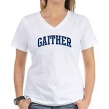 GAITHER design (blue) Shirt
