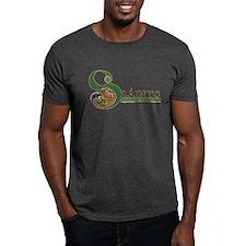 Slainte Celtic Knotwork T-Shirt in Dark Colors