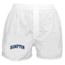 HAMPTON design (blue) Boxer Shorts