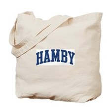 HAMBY design (blue) Tote Bag