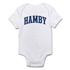 HAMBY design (blue) Infant Bodysuit