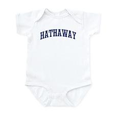 HATHAWAY design (blue) Infant Bodysuit