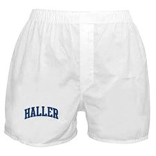 HALLER design (blue) Boxer Shorts