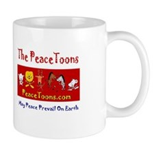 PeaceToons Human Rights Day Mug