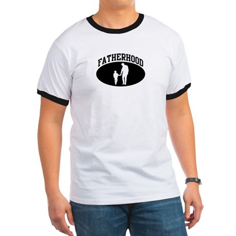 Fatherhood (BLACK circle) Ringer T