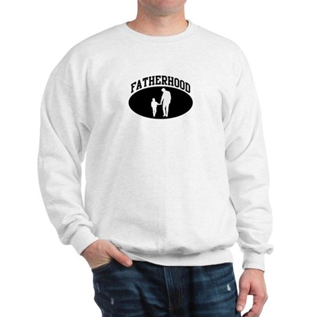 Fatherhood (BLACK circle) Sweatshirt
